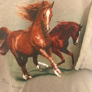 Urban Outfitters Tops - VTG HORSE GRAPHIC T-SHIRT